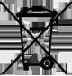Altbatterie-Entsorgung Symbol