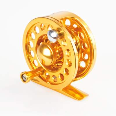 X-Version Fly Fliegenrolle Flyguide 89 #3 gold