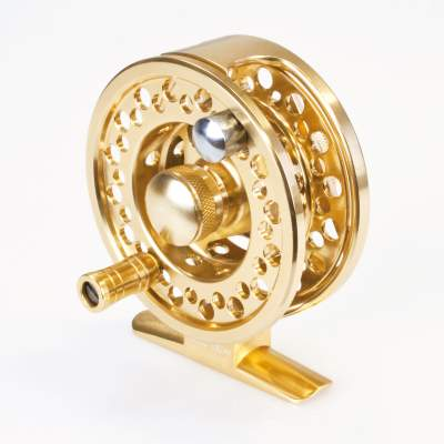 X-Version Fly Fliegenrolle Flyguide 99 #4 gold,