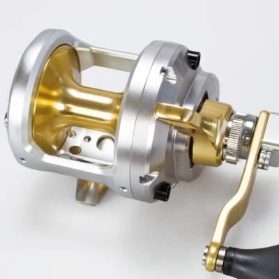 TAC16II Messing Getriebe Shimano Talica 16 II Multirolle Zweigang