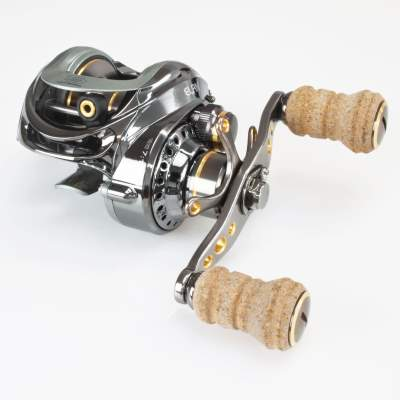 Banax Elan Vertikal & Cast Low Profile Cork Edition Baitcast Multirolle Linkshand