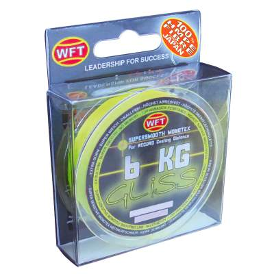 WFT Gliss yellow 150m 11KG 0,18 mm, - yellow - TK11kg - 0,18mm - 150m