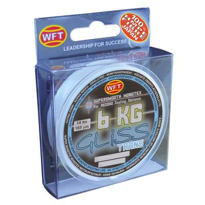 WFT Gliss transparent 300m 6KG 0,12 mm