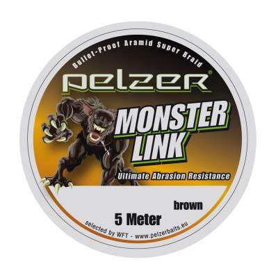 Pelzer Monster Link 110lbs 5m light braun