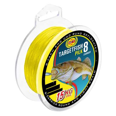 WFT TF8 Pilk yellow 2000m 12Kg 0,15mm