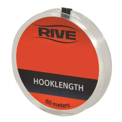 Rive Vorfachschnur Hooklength transparent line 0,148mm/ 60 m