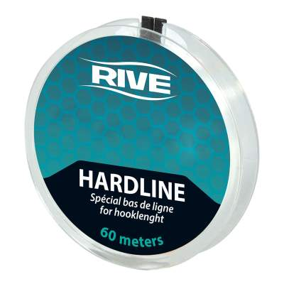 Rive Vorfachschnur Hard Line, transparent special  0,10mm/ 60 m