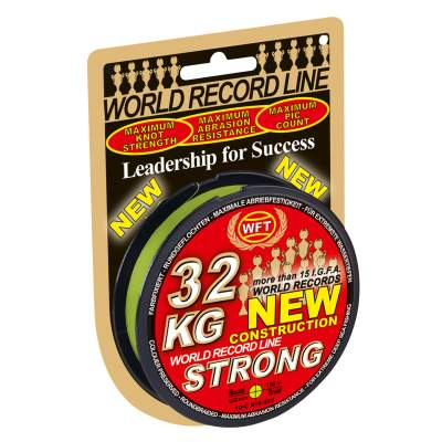 WFT New 15KG Strong chartreuse 150m 0,12mm, - chartreuse - TK15kg - 0,12mm - 150m