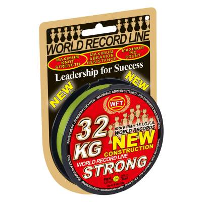 WFT 32 KG Strong Schnur 300 022CH, - chartreuse - TK32kg - 0,22mm - 300m