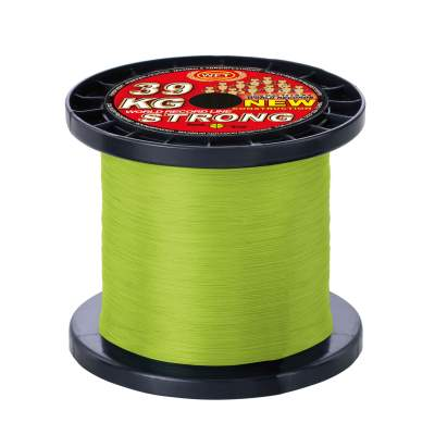 WFT New 15KG Strong chartreuse 1000m, - charteuse - TK15kg - 0,12mm - 1000m