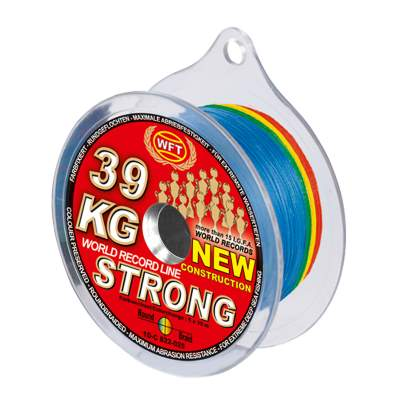 WFT New Strong multicolor 67KG 250m 0,39mm