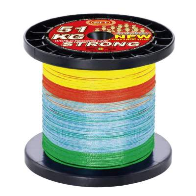WFT New Strong multicolor 32KG 1000m 0,22mm, - multicolor - TK32kg - 0,22mm - 1000m