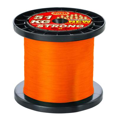 WFT New Strong orange 32KG 2000m 0,22mm, - orange - TK32kg - 0,22mm - 2000m