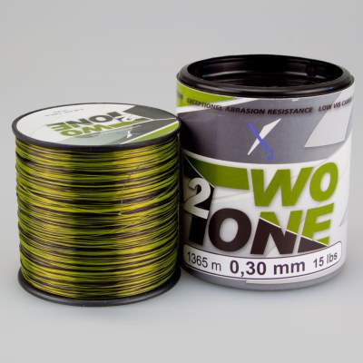 X2 Two Tone 2 Camou Line - 1000 0,30, 1365m - 0,30mm - camou - 6,8kg
