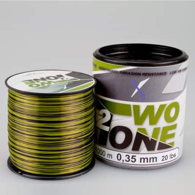 X2 Two Tone 2 Camou Line - 1000 0,35, 1000m - 0,35mm - camou - 11,8kg