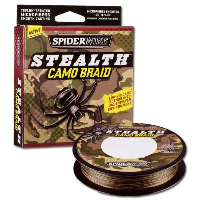 Spiderwire Stealth Camo Braid 270 012