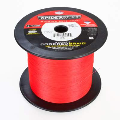 Spiderwire Stealth Code Red 3000m 0,10mm