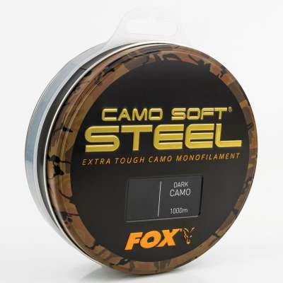 Fox Soft Steel Dark Camo 1000m 0.331mm 16lb/7.27kg