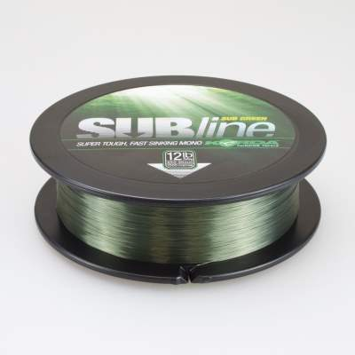 Korda SUBline 1000m 12lb 0,35mm Green