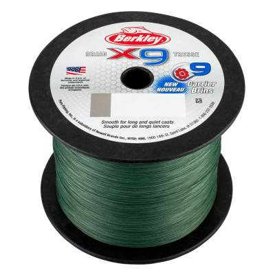 Berkley X9 Braid Low Vis Green 2000m, TK9,0kg - 0,10mm