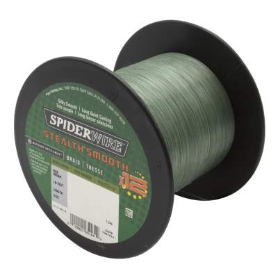 Spiderwire Stealth Smooth 12 Braid Moss Green 2000m Angelschnur, TK5,4kg - 0,05mm