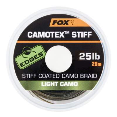 Fox Camotex Light Stiff 25lb 20m