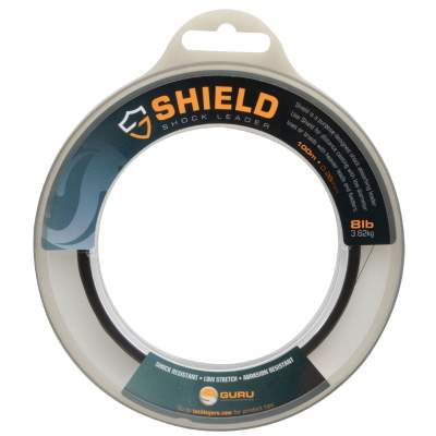 Guru Shield Shock Leader Line, schwarz - TK8lb - 0,28mm