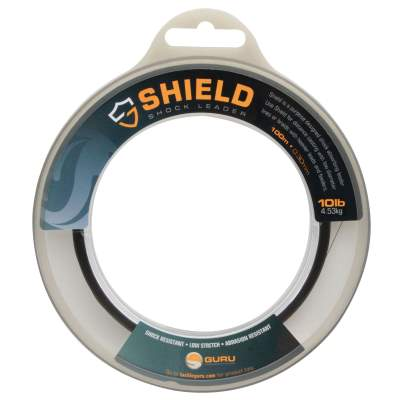 Guru Shield Shock Leader Line, schwarz - TK10lb - 0,3mm