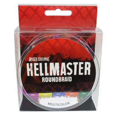 Angel Domäne Hellmaster Roundbraid Multicolor Angelschnur, 300m - 0,20mm - 18,45kg