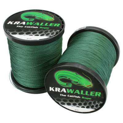 Krawaller The Catfish Rope - Round Braid geflochtene Schnur 1000m 0,62mm