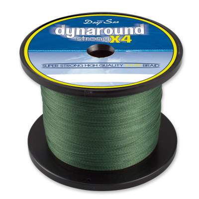 Team Deep Sea Dynaround Strong 4 PE Braid, OG 1000 016, 1000m - 0,16mm - olivgrün - 13,25kg