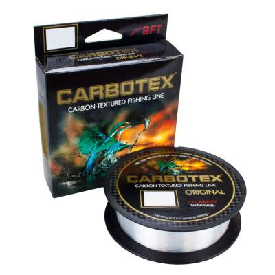 Carbotex Das Original transparent 500m 0,255mm, 500m - 0,255mm - transparent - 8,45kg