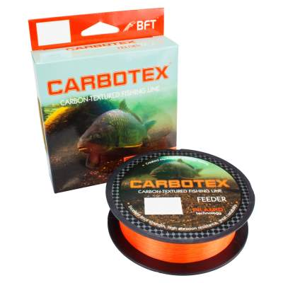 Carbotex Feeder Sinking fluo orange 250m 0,245mm,