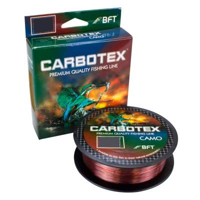 Carbotex Camo camouflage 600m 0,255mm, 600m - 0,255mm - camouflage - F-test 8,45kg
