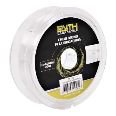 Faith Chod Mono 0.40mm 20m Fluorocarbon, 20m