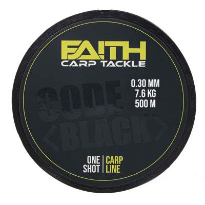 Faith Code Black (One Shot), 500m 0.30mm 7.6kg
