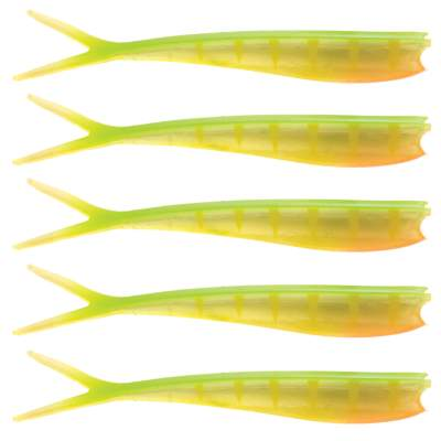 Westin Twin Teez 6 (153mm) No Action V Tail Shad Striped Lime