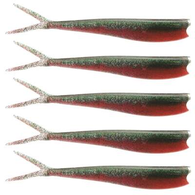 Westin Twin Teez 6 (153mm) No Action V Tail Shad Toxic Tomato