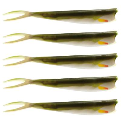 Westin Twin Teez 6 (153mm) No Action V Tail Shad Bass Glow