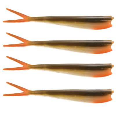 Westin Twin Teez 8 (204mm) No Action V Tail Shad Bass Orange