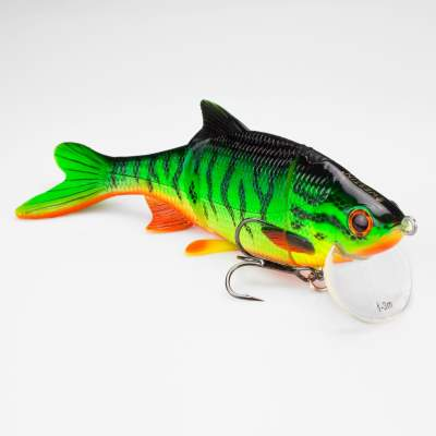Westin Ricky the Roach Real Swimbait Low Floating Crazy Firetiger