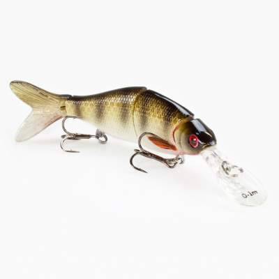 Westin Ricky the Roach Real Swimbait 8cm 7g SI Crystal Perch