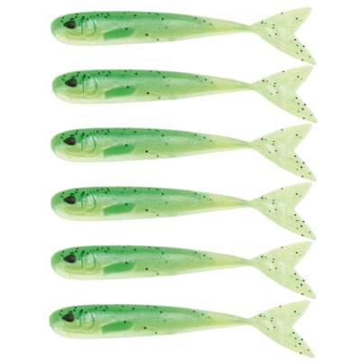 Westin Mega Teez 3,5 (88,9mm) No Action V Tail Shad Lime Curd