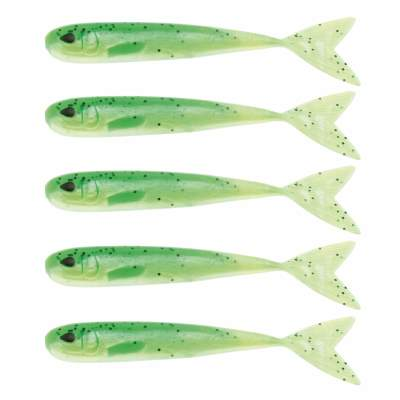 Westin Mega Teez 5 (127mm) No Action V Tail Shad Lime Curd