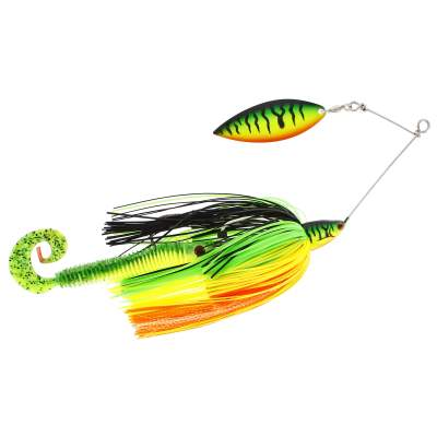 Westin MonsterVibe Willow Spinnerbait, Crazy Firetiger - 65g - 1 Stück