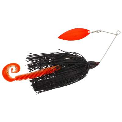 Westin MonsterVibe Willow Spinnerbait, Black Mamba - 65g - 1 Stück