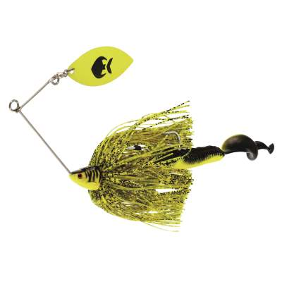 Westin MonsterVibe Willow Spinnerbait, Flash Roach - 65g - 1 Stück