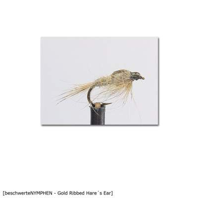 X-Version Fly Beschwerte Nymphe GOLD RIBBED HARE´S EAR  14