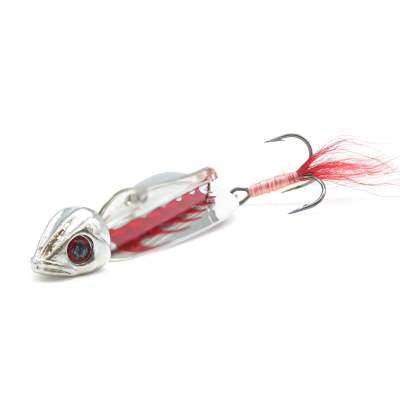 Bite Booster La Pitoune Silver-Red Holographic Red 15g 6,2cm
