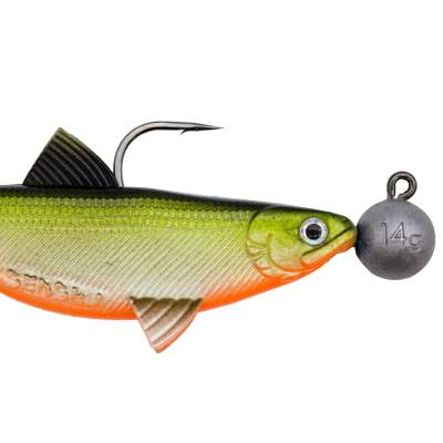 Senshu Real Fin Shad 12 Ready2Catch - Orange Belly, 12cm - 25g - 3 Stück